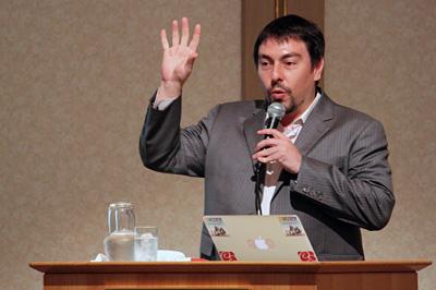 株式会社クリエイティブホープ 代表取締役会長 大前創希氏